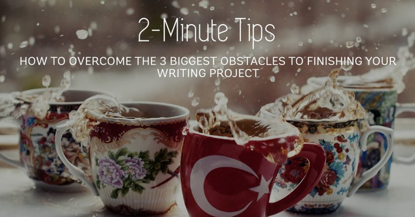 The 3 Obstacles to Writing