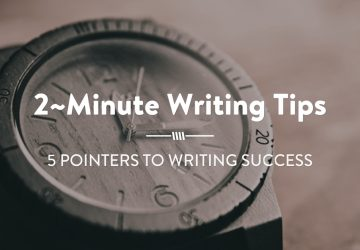 5-POINTers for Writing Success