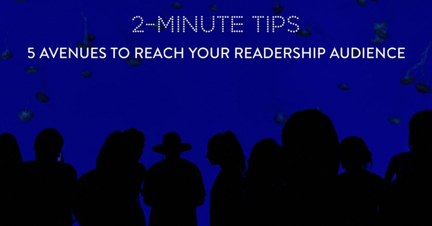 5 Author Avenues to Reach Your Audience