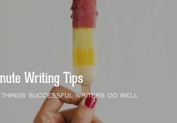 5 Things Writers Do Well