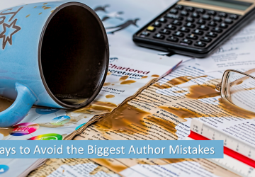 3 ways to avoid the biggest author mistakes