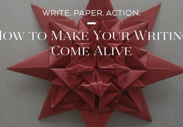 Write, Paper, Action!