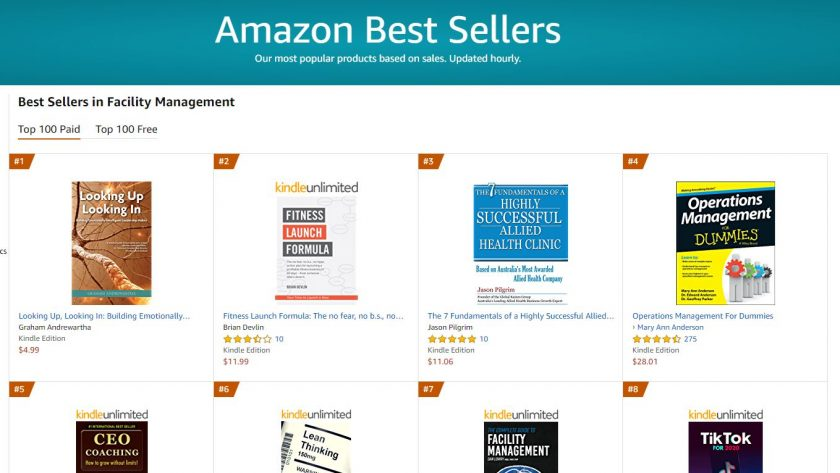 Looking Up Looking In Number 1 Bestseller on Amazon