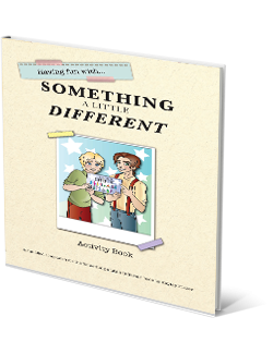 having fun with something a little different activity book